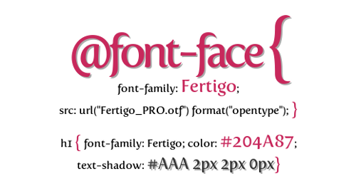 Crear una font-family a mb una font .ttf (@font-face)