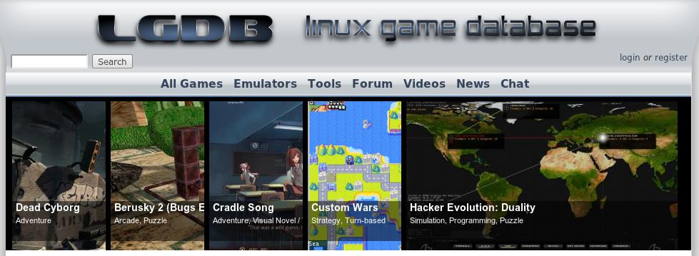 LGDB, jocs per a Linux i 4 de destacats